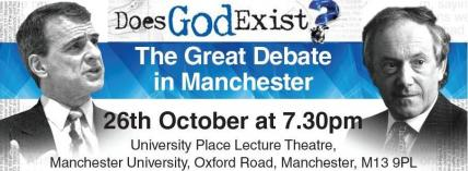 'Does God Exist?' Bill Craig debates Peter Atkins