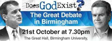 'Does God Exist?' Bill Craig debates Peter Millican - video