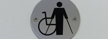 Crutches Sign