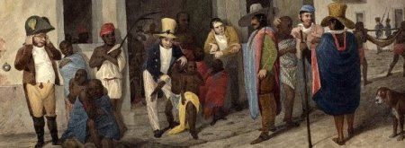 The Slave market at Rio